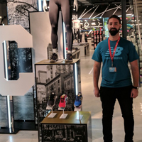 Security Guard at New Balance Store London